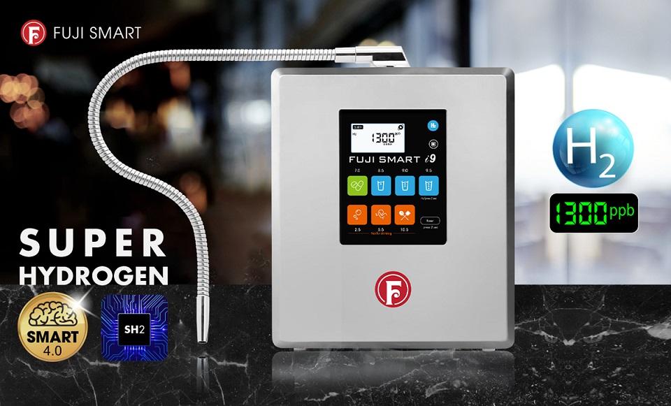 Fuji Smart i9 giúp tiết kiệm thời gian lấy nước với công suất tạo nước tối đa đạt 5.5 lít/ phút