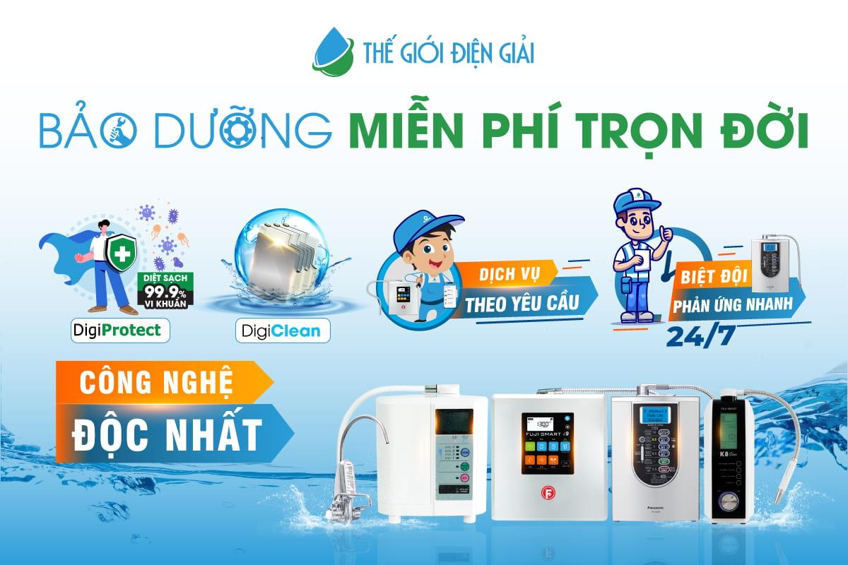 mua máy lọc nước ion kiềm giá rẻ nhất ở đâu hà nội