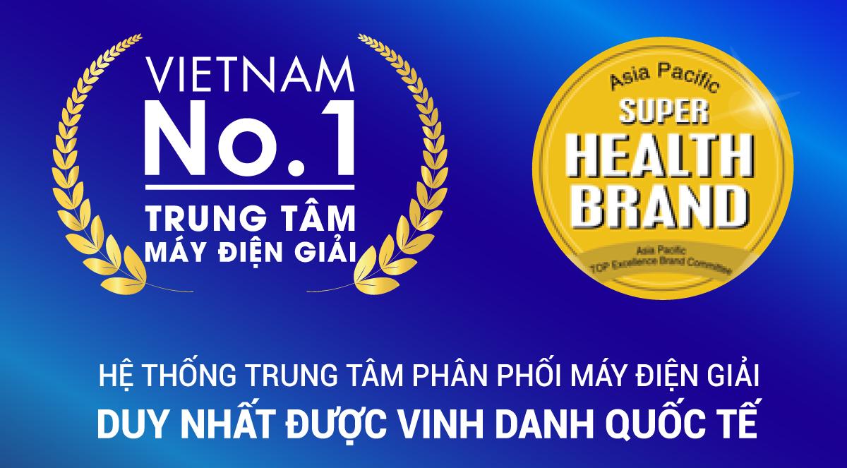 Thế Giới Điện Giải nhận giải thưởng Health Brand danh giá