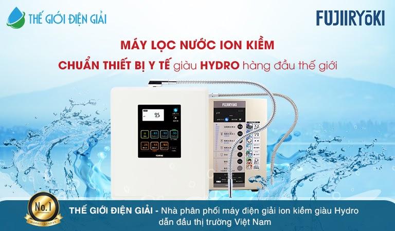 Máy lọc nước ion kiềm Fujiiryoki có tốt không?