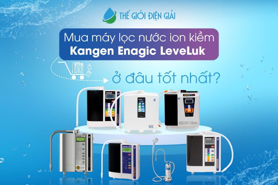 mua máy lọc nước điện giải ion kiềm kangen enagic nhật bản ở đâu tốt nhất Tp.hồ chí minh