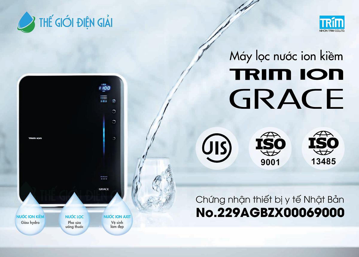 máy lọc nước ion kiềm trimion grace có tốt hay không
