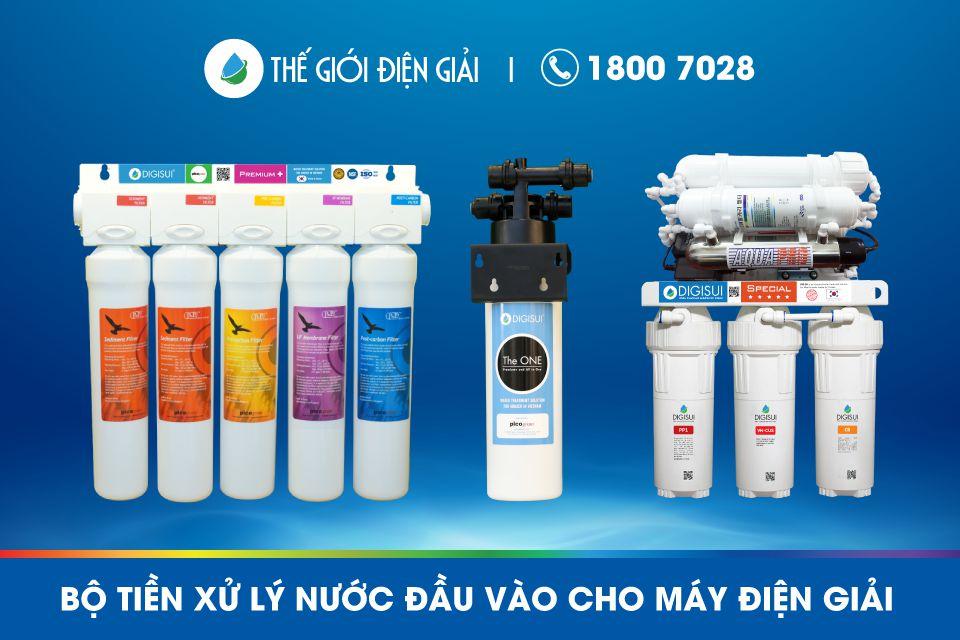 Bộ tiền xử lý máy lọc nước ion kiềm Digisui