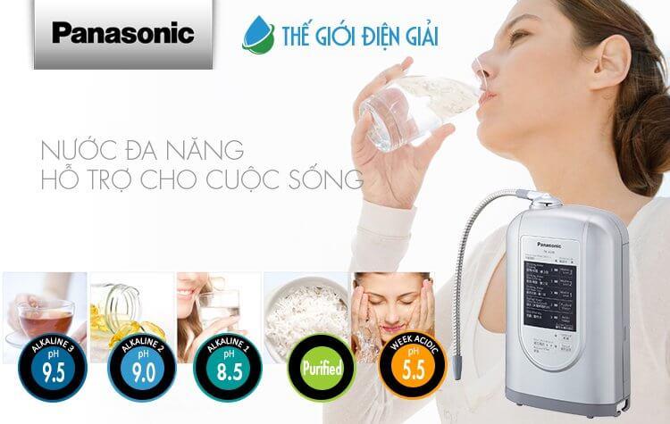 máy lọc nước iON kiềm Panasonic TK-AS45 giá rẻ có tốt không