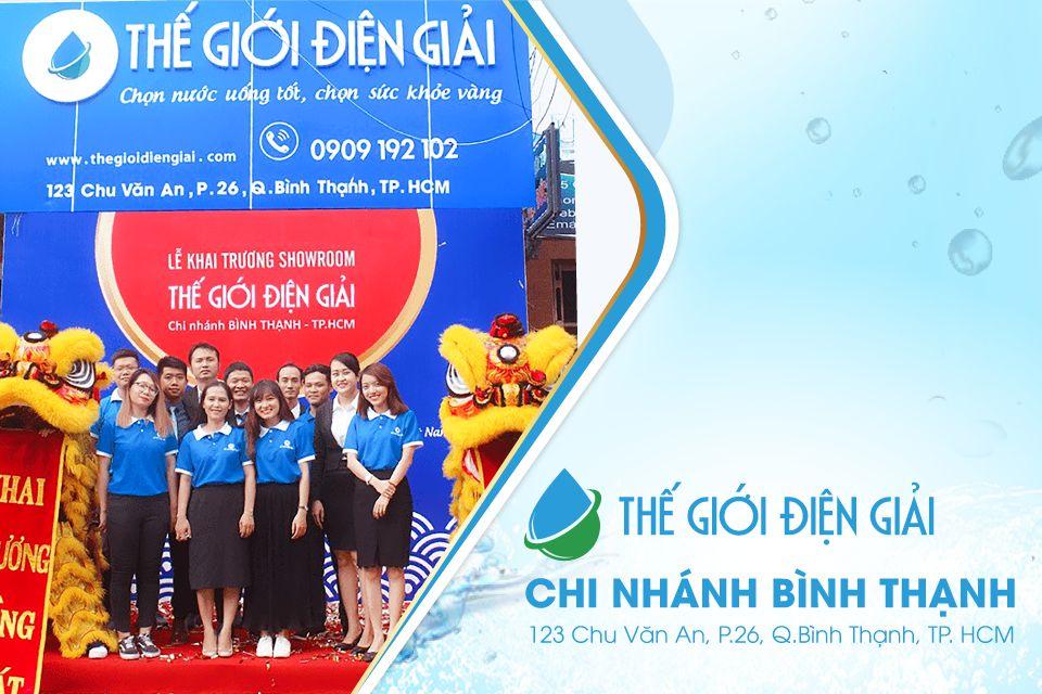Cửa hàng máy lọc nước ion kiềm Hồ Chí Minh chính hãng