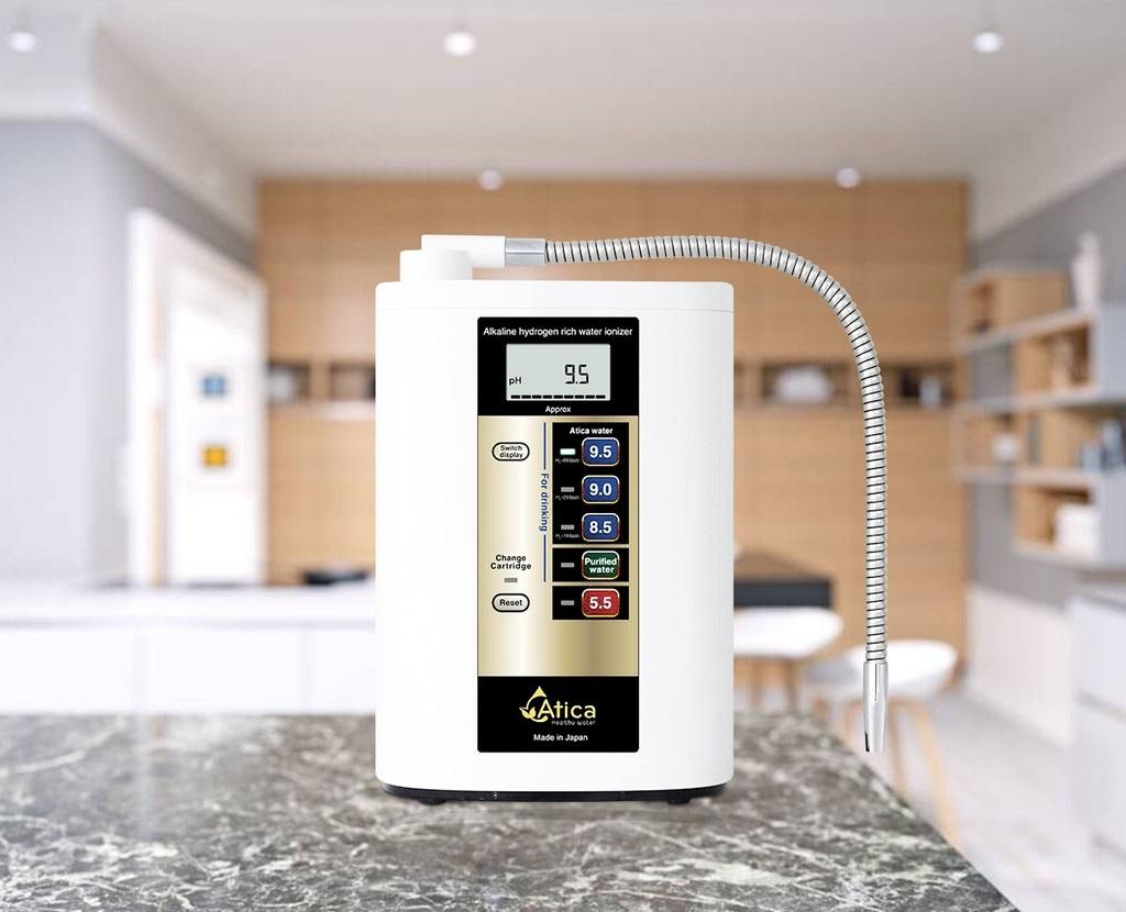 máy lọc nước ion kiềm Atica Gold có tốt hay không bao nhiêu tiền