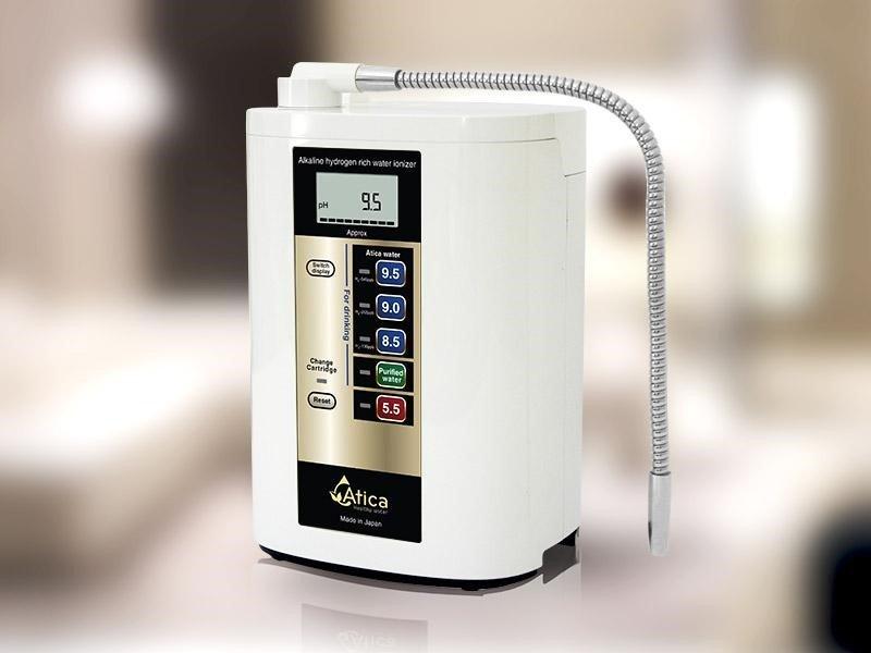 Máy lọc nước kiềm hóa Atica là thương hiệu máy lọc nước kiềm Nhật Bản được sản xuất bởi tập đoàn Maxell