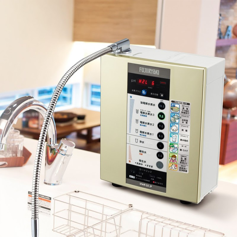 Mua máy lọc nước ion kiềm Fujiiryoki HWP-55 ở đâu tốt?