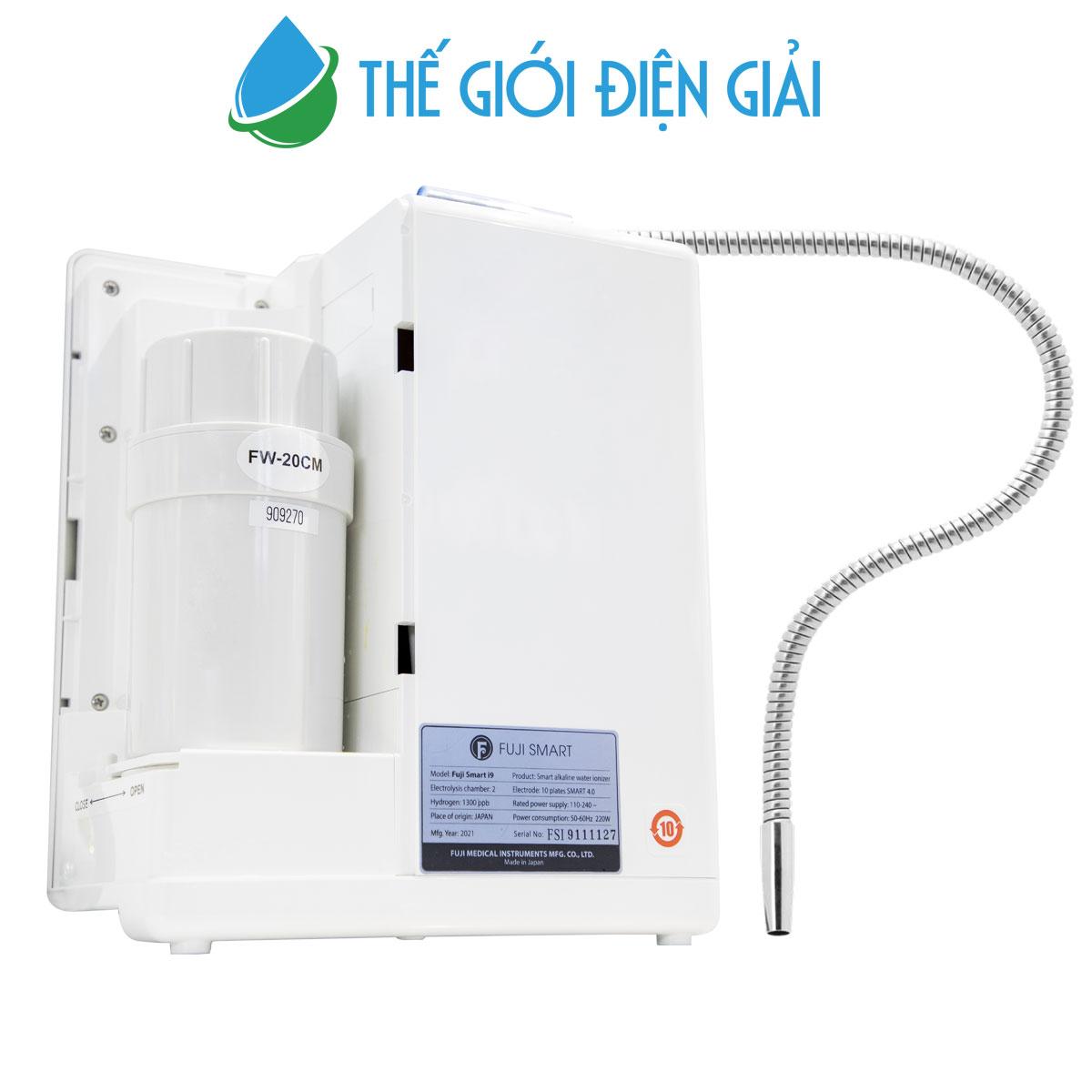 Lõi lọc tinh máy lọc nước ion kiềm Fuji Smart i9