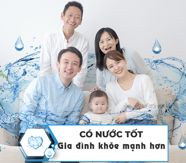 Nước Kangen (nước ion kiềm) được xem là bí quyết khỏe mạnh và trường thọ của người Nhật Bản hơn 50 năm qua