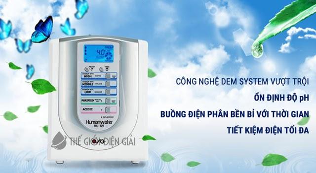 Máy lọc nước ion kiềm OSG Human Water HU-121 có tốt không?