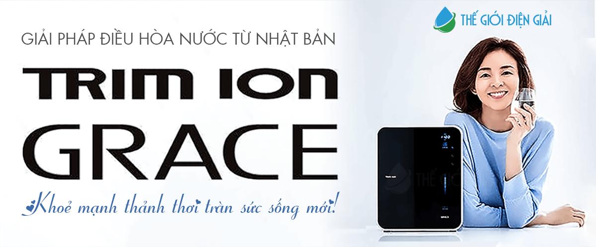 Mua máy lọc nước ion kiềm Trimion Grace ở đâu tốt nhất?