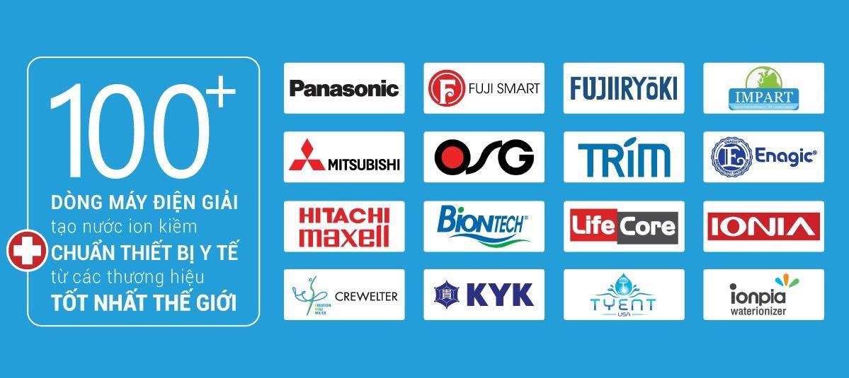 Mua máy lọc nước ion kiềm chính hãng dịch vụ tốt nhất thị trường
