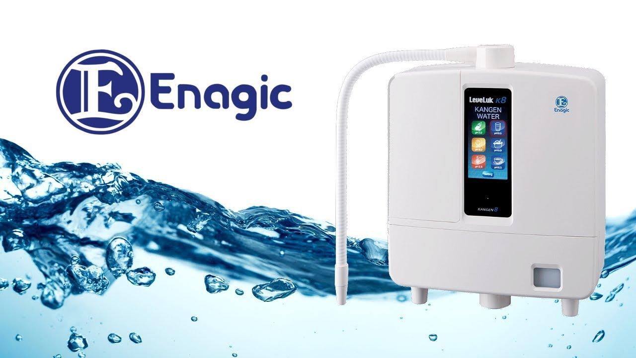 máy lọc nước ion kiềm Kangen - Enagic LeveLuk K8 có tốt không