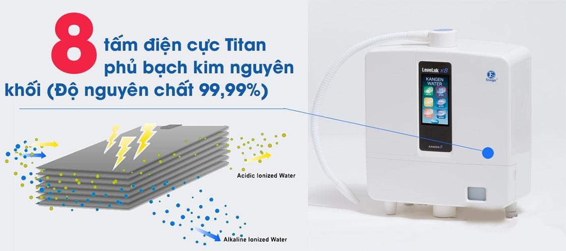 mua máy lọc nước điện giải ion kiềm kangen - enagic nhật bản giá rẻ chính hãng ở đâu tphcm