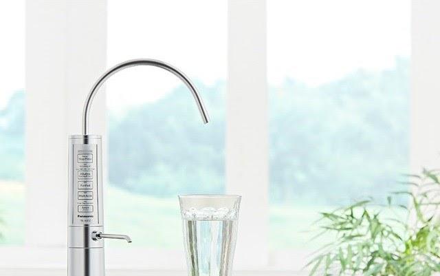 Máy lọc nước ion kiềm Panasonic TK-AB50 tạo ra được đồng thời 5 - 7 (*) loại nước tốt chăm sóc sức khỏe