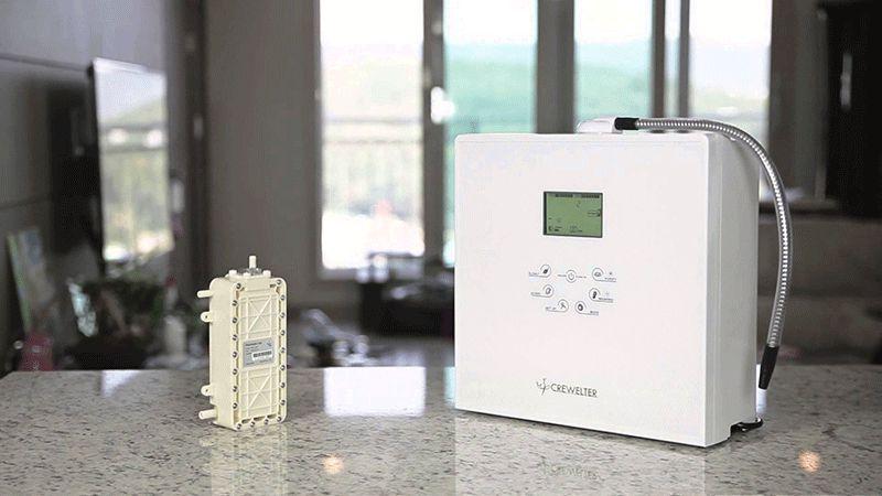 Mua máy lọc nước ion kiềm Crewelter 9 Hàn Quốc giá rẻ bền nhất ở đâu Hà Nội?
