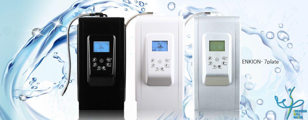 Vì sao nên mua máy lọc nước ion kiềm Crewelter 7 Enkion