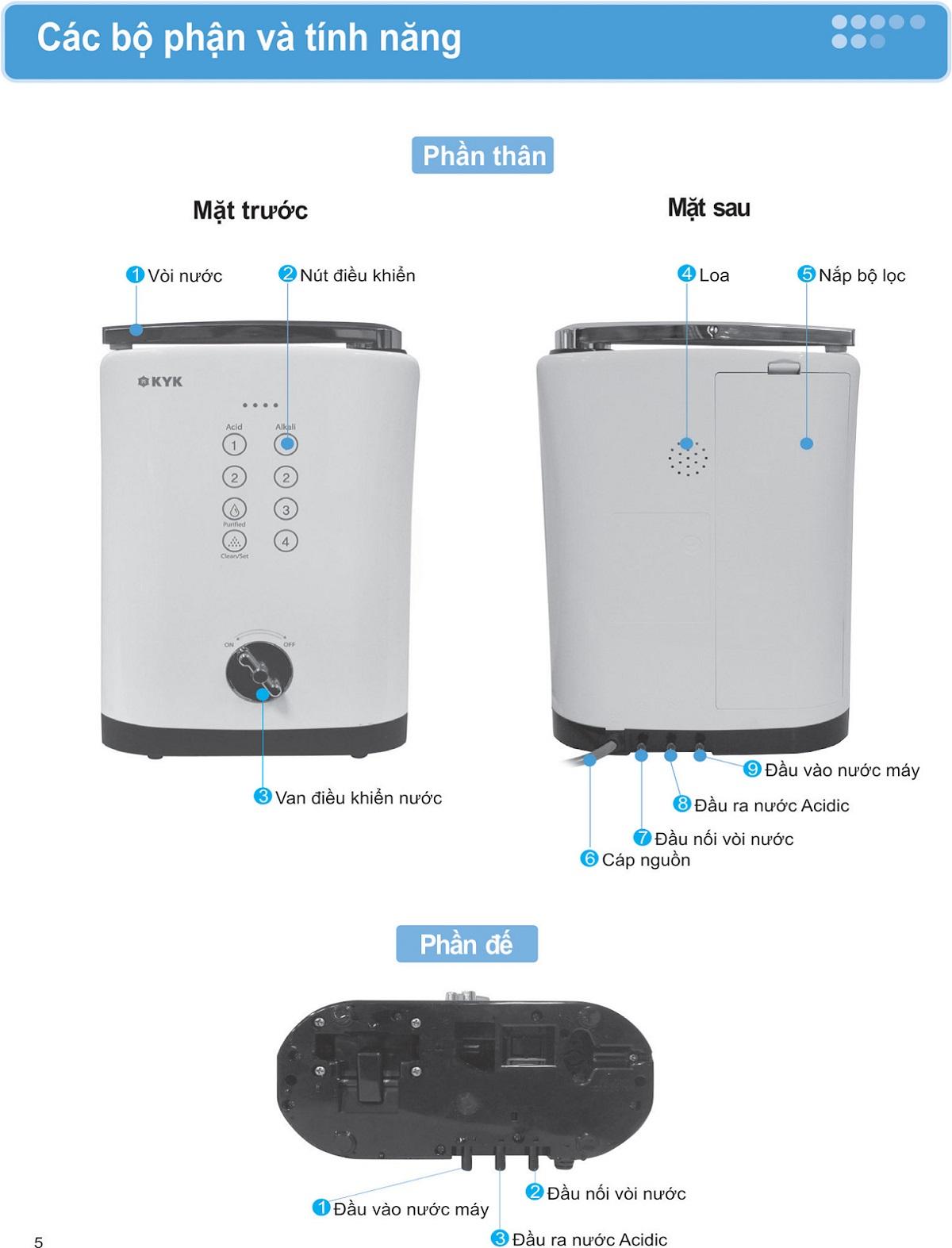 Có nên mua máy lọc nước ion kiềm KYK Hisha giá rẻ?