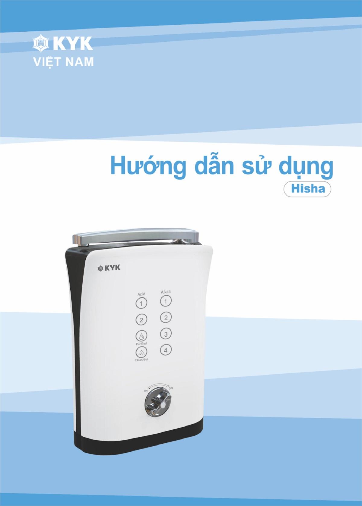 Máy lọc nước ion kiềm KYK Hisha có công dụng gì?