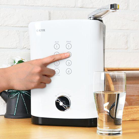 Vì sao nên mua máy lọc nước ion kiềm KYK Hisha?