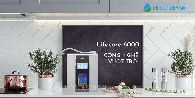 Máy lọc nước ion kiềm Lifecore 6000 hiện đại