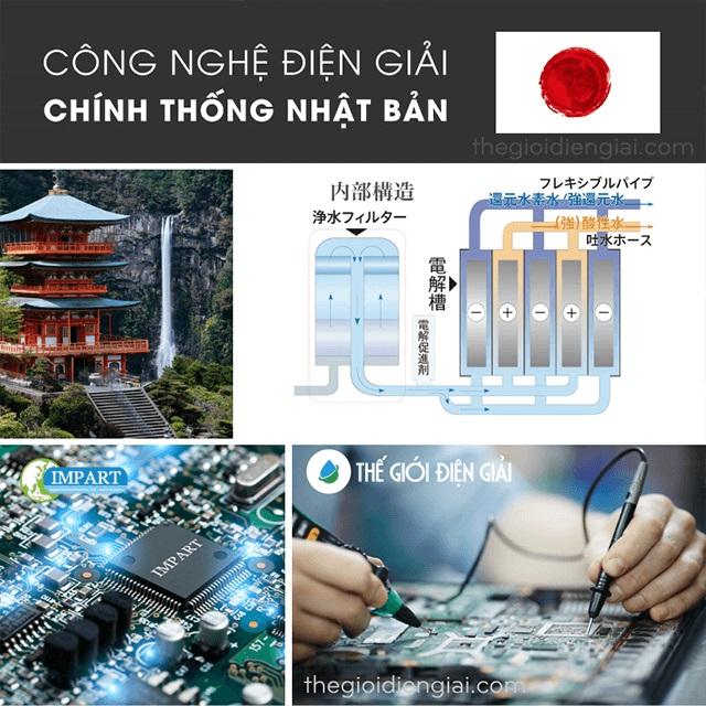 Có nên mua máy lọc nước ion kiềm Impart  Excel-FX (MX-99) Nhật Bản chính hãng?