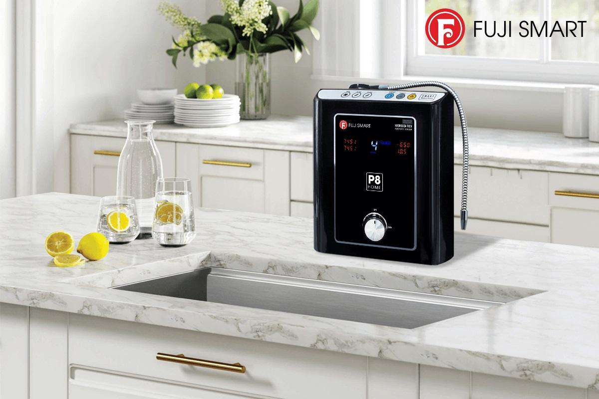 Thiết kế máy lọc nước ion kiềm Fuji Smart P8 Home đơn giản, sang trọng