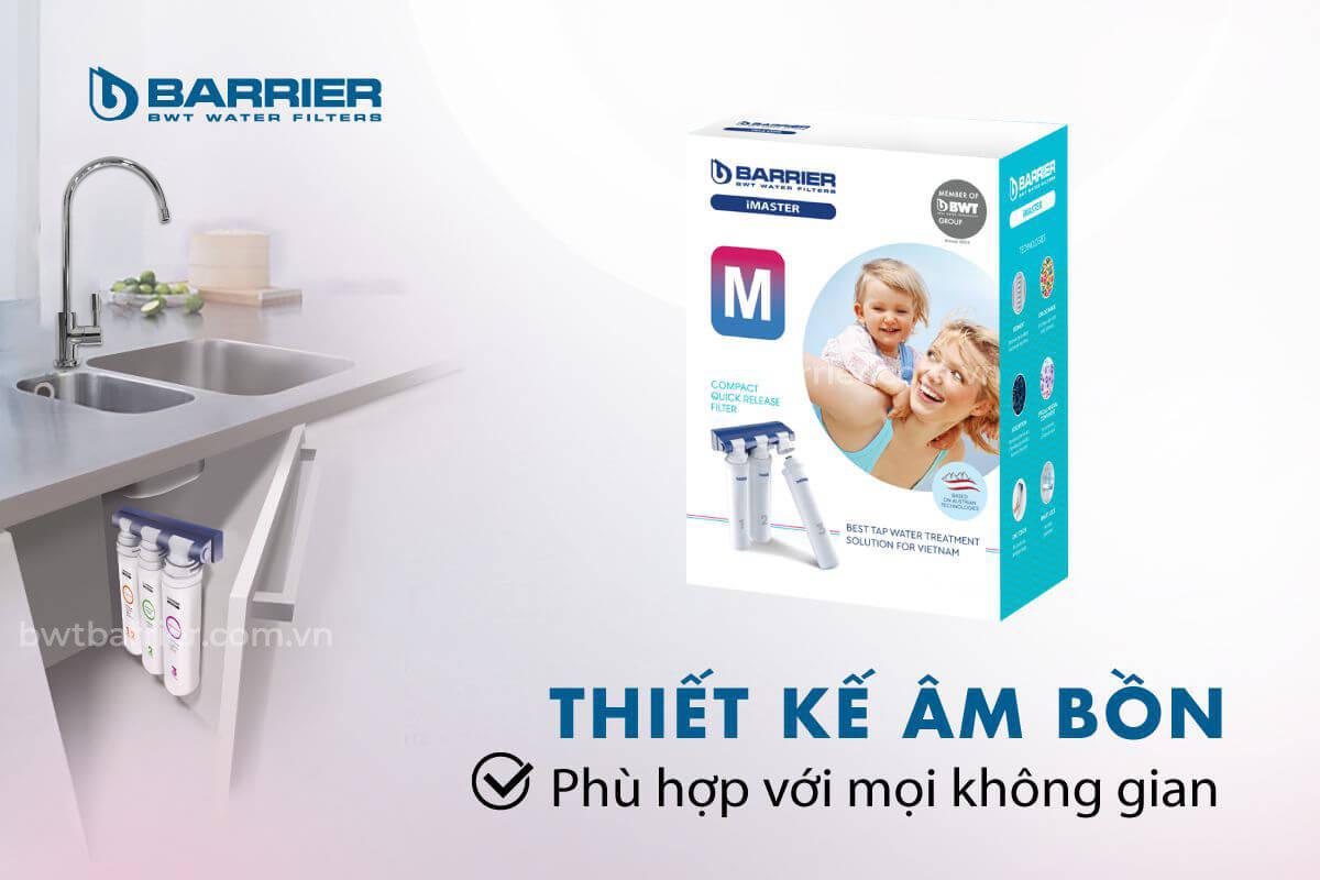 Nơi bán máy lọc nước BWT Barrier iMaster M tốt nhất Hồ Chí Minh, Hà Nội, Đà Nẵng, Cần Thơ