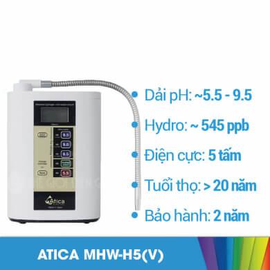 Máy lọc nước iON kiềm Atica Gold có tốt không?