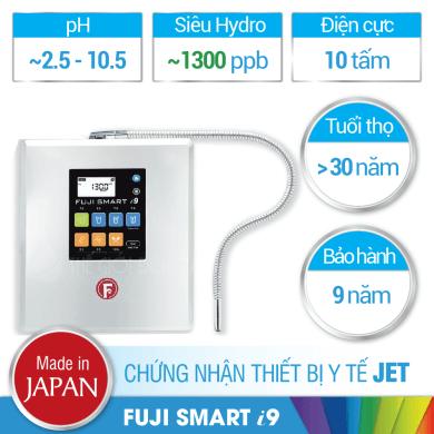 Máy lọc nước ion kiềm Fuji Smart i9 có tốt không?