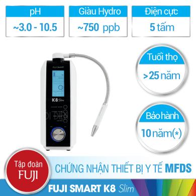 Có nên mua máy lọc nước ion kiềm Fuji Smart K8 Slim?