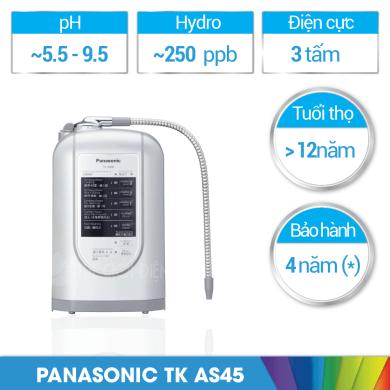 Máy lọc nước ion kiềm Panasonic TK-AS45 có tốt không?
