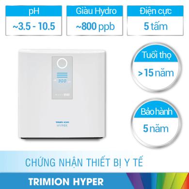 Máy lọc nước iON kiềm Trim iON Hyper giá bao nhiêu?