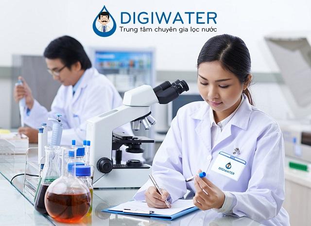 Digiwater kiểm tra nước miễn phí chuyên sâu cho khách hàng của Thế Giới Điện Giải