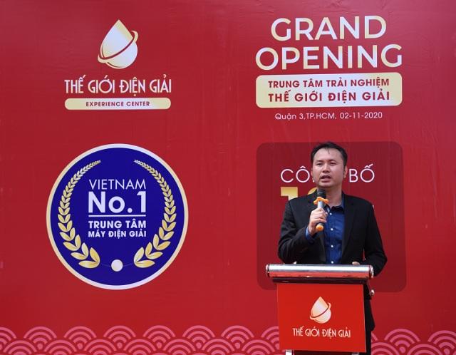 Ông Lê Thành Nhân công bố chiến lược kinh doanh 10 năm