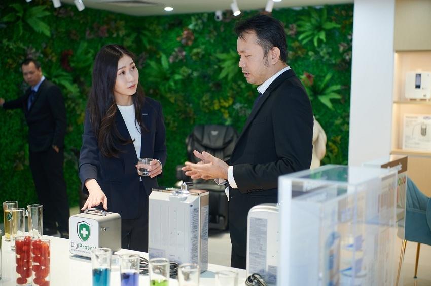 Sự kiện ra mắt trung tâm trải nghiệm máy lọc nước ion kiềm tại Hà Nội