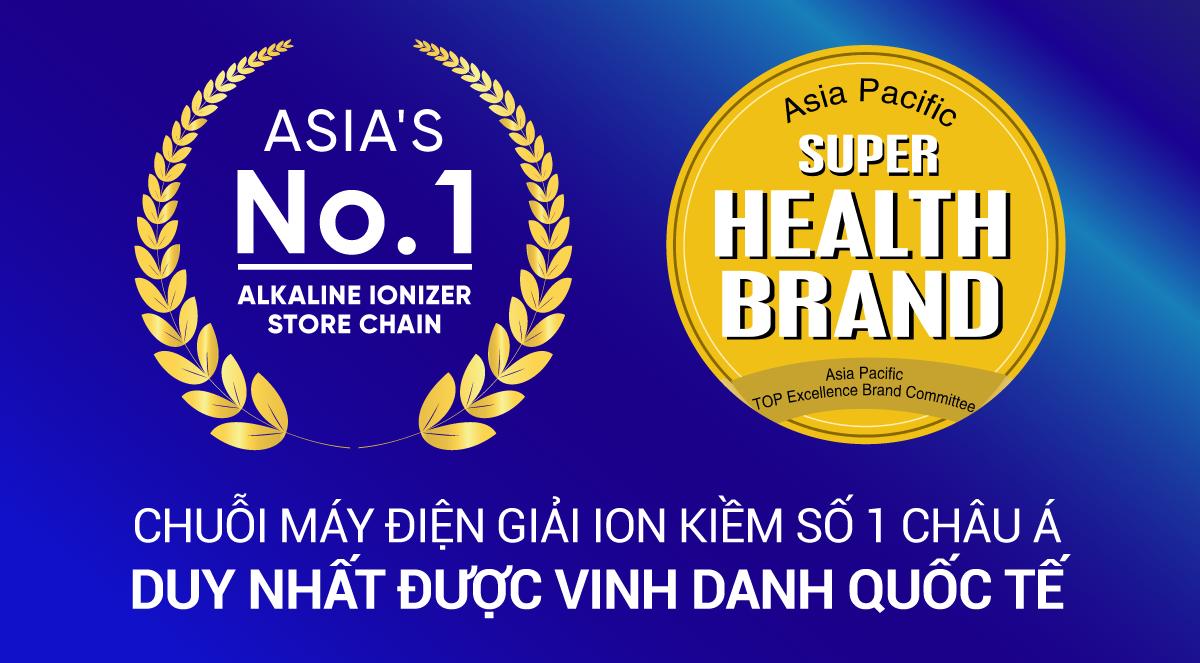 Thế Giới Điện Giải được trao tặng giải thưởng Health Brand danh giá