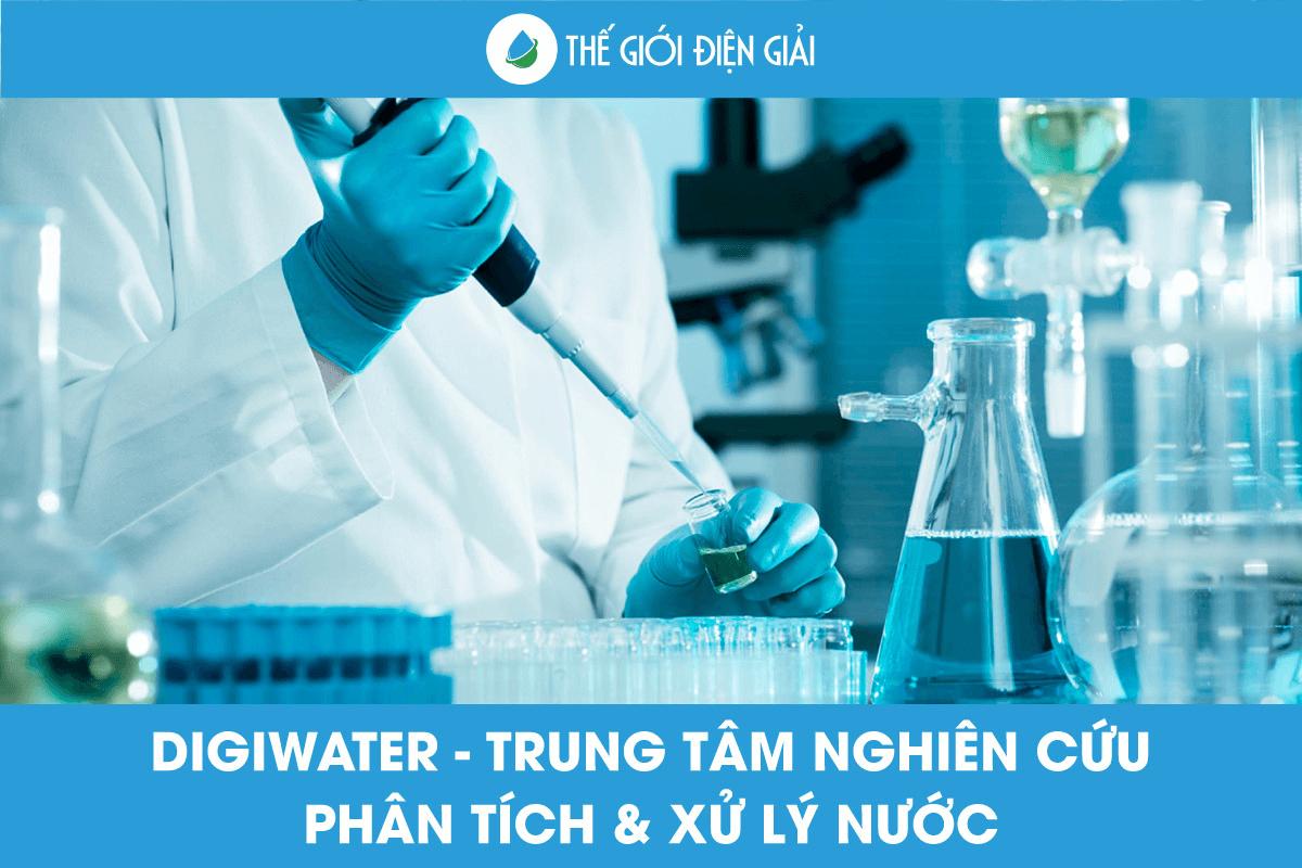 Trung tâm nghiên cứu nước  Digi Water R&D Center có uy tín không?