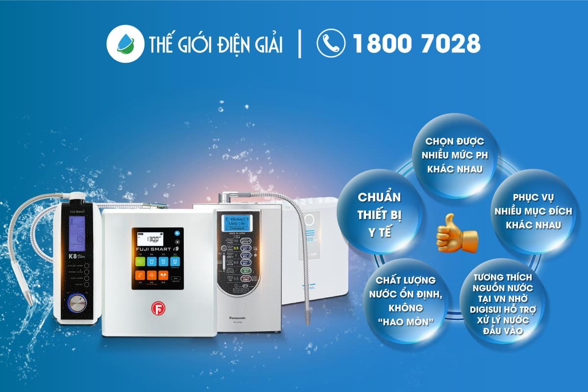 mua máy lọc nước điện giải ion kiềm như thế nào là tốt nhất