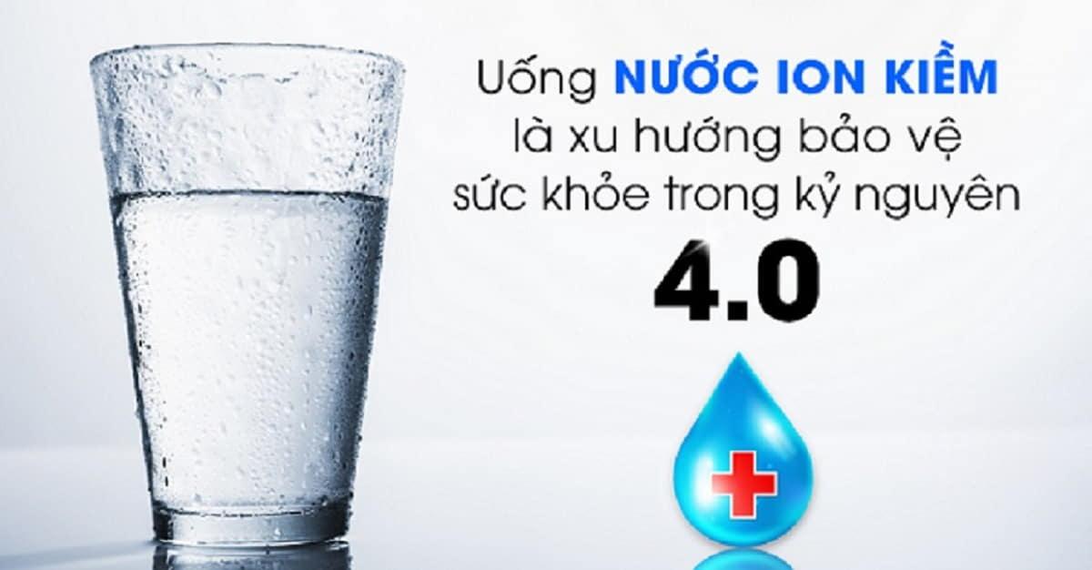 nước ion kiềm thật sự tốt cho sức khỏe hay không