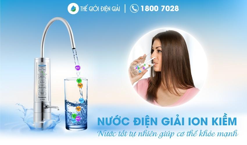 Uống bao nhiêu nước ion kiềm là đủ?