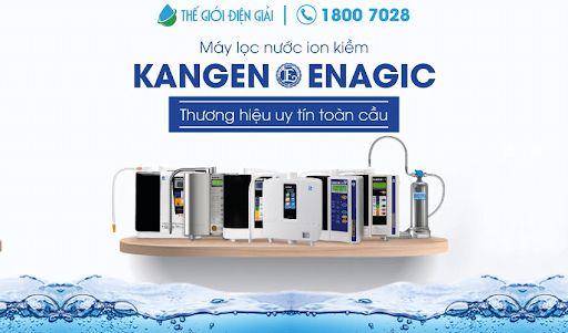 Máy lọc nước ion kiềm Kangen-Enagic