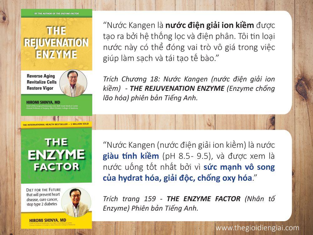 Những nhận định của bác sĩ Hiromi Shinya về nước ion kiềm