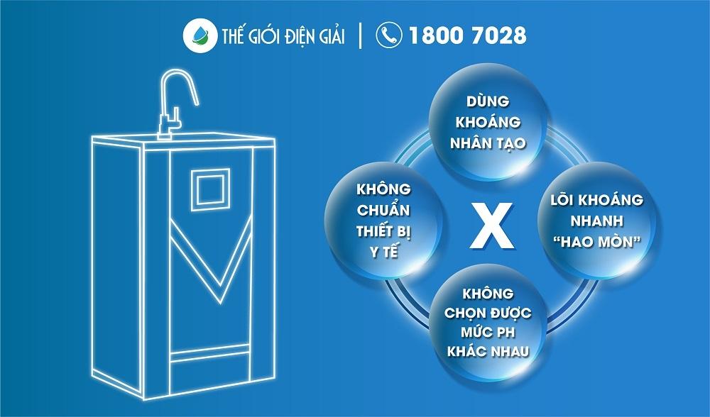 Máy lọc nước hydrogen sử dụng công nghệ RO chưa phải là lựa chọn tốt nhất nếu muốn chăm sóc sức khỏe toàn diện
