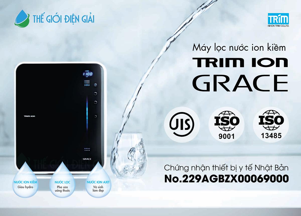 Mua máy lọc nước ion kiềm Trimion Grace ở đâu tốt nhất