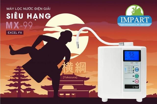 Vì sao nên mua máy lọc nước ion kiềm Impart Excel-FX (MX-99) chuẩn thiết bị y tế?