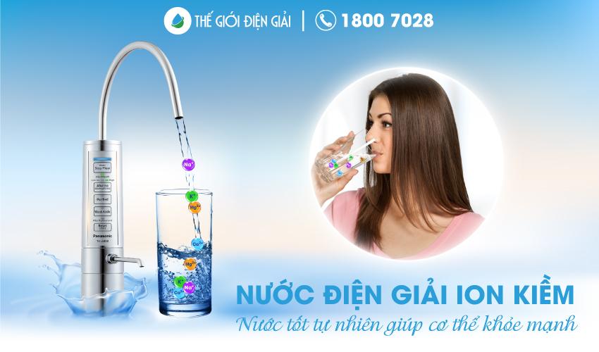 Có nên uống nước ion kiềm trong mùa dịch covid19 không?