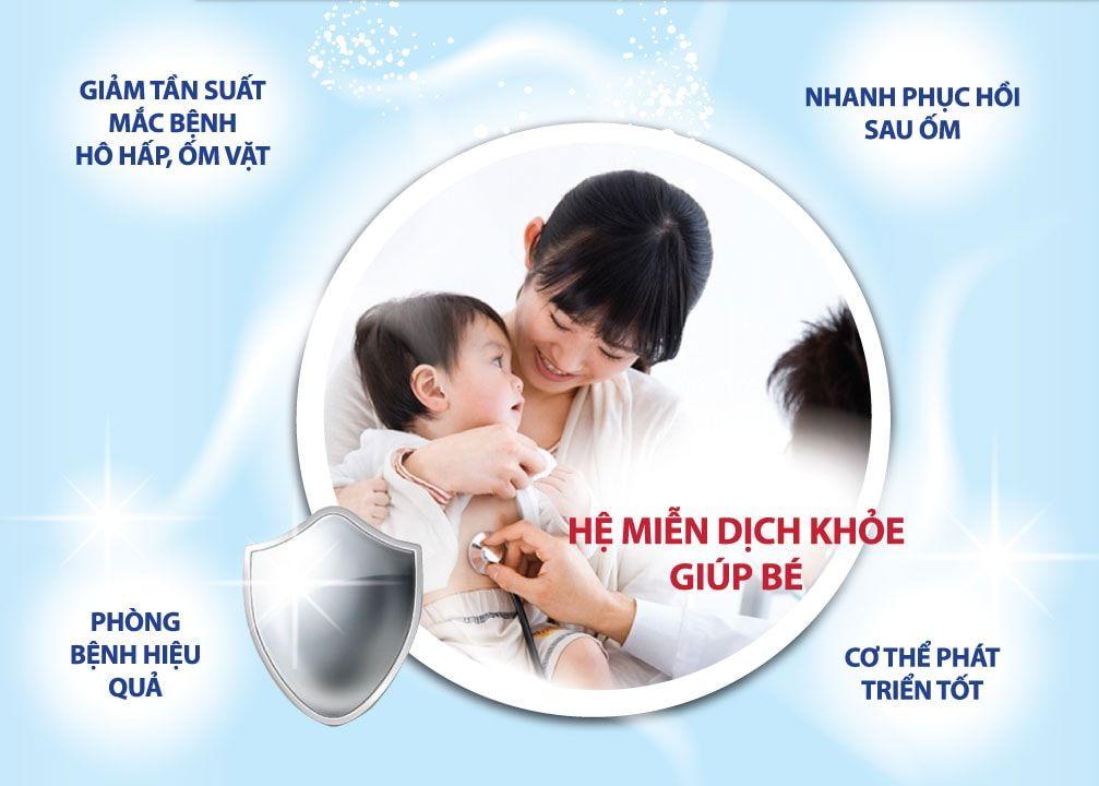 Vai trò của sức đề kháng đối với bé
