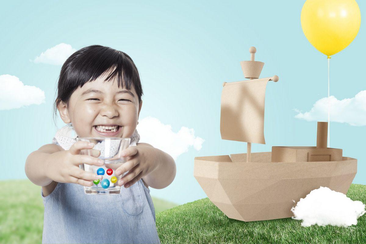 Nước ion kiềm có tốt cho trẻ không?